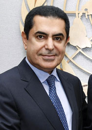 H.E. Mr. Nassir Abdulaziz Al-Nasser, President, United Nations General Assembly